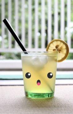 Kawaii lemonade i want this cup its too cute. Kawaii Shop, Kawaii Cute, Kawaii Stuff, Kawaii Plush, Kawaii Things, Hello Kitty, Cute Cups, All Things Cute, Japan Design
