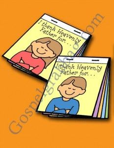 PRAYER: Primary Nursery Lesson 3, I Can Pray to Heavenly Father, Sunday Savers book or CD-ROM, gospelgrabbag.com, Primary Lesson Helps, Beho...