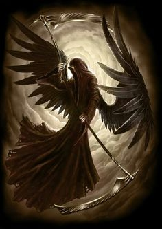 Reapers have brown wings and aid in violent deaths that are too disturbing for a person's Guardian.