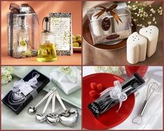 Kitchen and Cooking Bridal Shower Party Favors from HotRef.com #cookingpartyfavors #kitchenpartyfavors #bridalshower