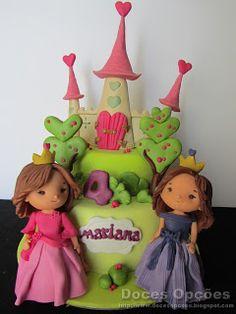 Doces Opções: Bolo para o 4º aniversário da princesa Mariana