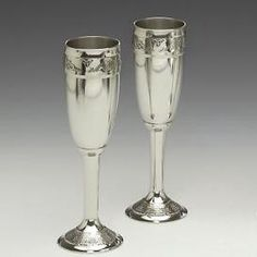 Celtic Champagne Toasting Flutes