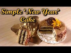 Simple Miniature Cake - Polymer Clay Tutorial - 'New Year' - YouTube