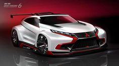 GALERIE: Mitsubishi XR-PHEV Evolution Vision GT: Virtuální závoďák od tří diamantů | FOTO 5 | auto.cz
