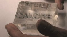 Double Refraction in Calcite.wmv