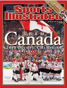 Team Canada 2010 Olympic Champions Commemorative Issue