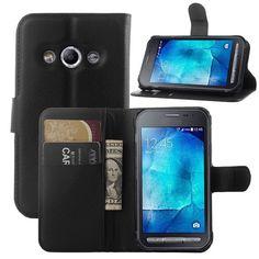 用samsung galaxy xcover 3 caseカバー、2016ファッション高級フリップ革財布スタンド電話caseカバー用galaxy xcover 3 G388F