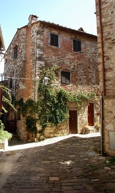 Montefioralle, Greve, Chianti, Italy