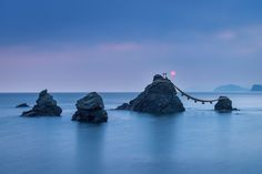 Ise, Mie, Japanで撮影された夫婦岩の写真 夫婦岩 : パシャデリック