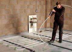 Laying Underfloor Heating