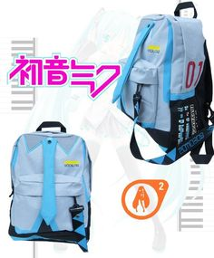 Amazon.com: Miku Hatsune Vocaloid Backpack: Toys & Games