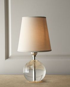 """""""Crystal Orb"""" Mini Lamp at Horchow."""