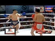Kun Khmer, Saroeun Chan (Khmer) Vs Yord Sing (Thai), SEATV Boxing, 12 Ma...