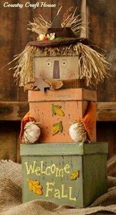 Scarecrow boxes