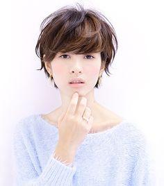 HAIR TREND 2015 冬 冨山 倫宏(ショート) ホットペッパービューティー