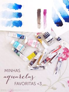 juliana rabelo | illustration: Equipamentos: aquarela!