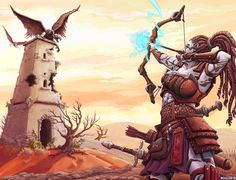 Goliath and tower by BrentWoodside on DeviantArt