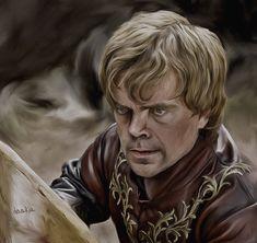 Beautiful Game of Thrones Art by DaaRia #gameofthrones