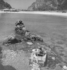 Kerkyra Island, Photo by Petros Brousalis Greece Pictures, Old Photos, Past, Greek, Island, Black And White, History, World, Water