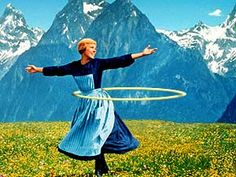 the hoops are alive...  #hooping, #thesoundofmusic