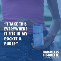 #HarmlessCigarette #QuitSmoking #Smokefree #SmokefreeLife