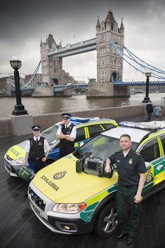 Joint Response Unit at Tower Bridge, London Ambulance Service