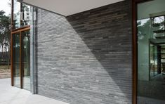 Lange gevelsteen grijs