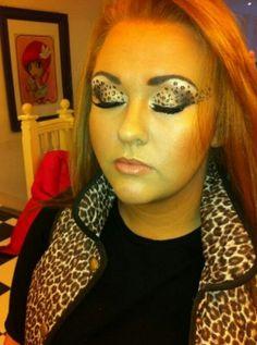 Cheetah makeup | Halloween | Pinterest | Cheetah makeup, Makeup ...