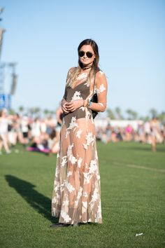 The Best Street Style From Coachella  - ELLE.com