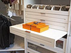 Give Your Accessories the Perfect Home - Ways to Maximize Storage in Your Walk-In Closet on HGTV