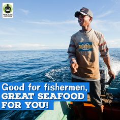 $50 for you—safe working conditions for fishermen: It's a win-win! Repin to show your support & enter to #WIN a $50 gift card to your local @safeway, ACME Markets & Vons-Pavilions now: http://fairtrd.us/1Jz6GNn ‪#‎FairSeafood #giveaway #seafood #fish #supplychain #sustainable