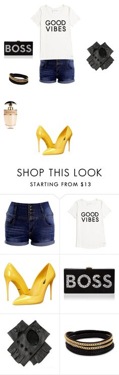 """""""Untitled #2325"""" by anamaria-zgimbau ❤ liked on Polyvore featuring Tommy Hilfiger, Dolce&Gabbana, Milly, Black, Vita Fede and Prada"""