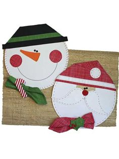 Have a very merry and whimsical Christmas with these fun and happy place mats gracing your table! Make them all uniform or mix it up by changing fabrics and placement of the noses, moustache, holly and more. Pattern includes step-by-step instructions. Christmas Napkin Folding, Christmas Napkins, Christmas Applique, Christmas Decorations Sewing, Christmas Crafts, Toddler Christmas, Christmas Fun, Quilt Patterns, Sewing Patterns