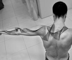 Lignes Géométriques Tatouage