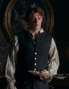 "Jamie (Sam Heughan) in Episode 206 ""Best Laid Schemes"" of Outlander Season Two on Starz via https://outlander-online.com/"