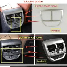 Interior Mouldings Interior Accessories Abs Lapetus Car Styling Front Air Conditioning Ac Outlet Vent Frame Cover Trim 2 Piece Fit For Honda Crv Cr-v 2017 2018 2019