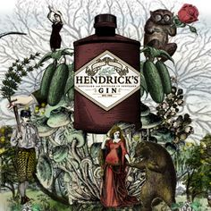 The one and only...Hendrick's...  Browse the world of the unusual with Hendrick's Gin