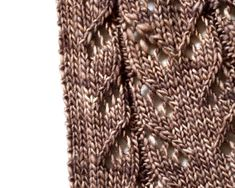 """As implied by the name """"Hitofude"""", meaning a single brush stroke in Japanese, this open front cardigan with an all-over lace pattern is worked in one """"yarn stroke"""" - a continuous strand without cutting the yarn.The yarn stroke starts from the upper body and sleeves which worked together in a rectangular piece, then moves to the lower body, where the lace pattern increases evenly, creating a gentle drape.Refer to the schematic on pattern page 5 before selecting a size. Note..."""