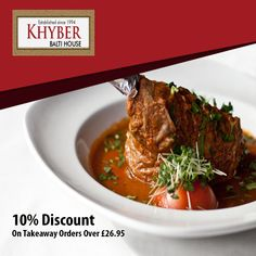Khyber Balti House offers delicious Indian Food in Hatfield, St Albans Browse takeaway menu and place your order with ChefOnline. Order Takeaway, Food Online, St Albans, Indian Food Recipes, Menu, Delivery, Fresh, Heart, House