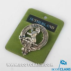 Sutherland Clan Crest Badge