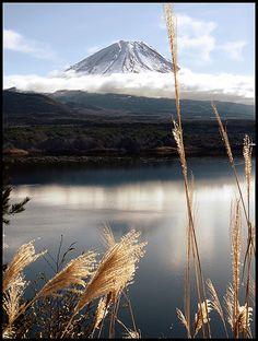 Mt. Fuji, Japan~ Climbing this volcanic mountain next year!