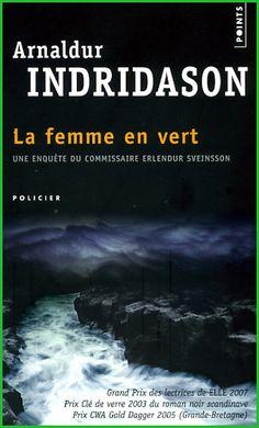 Arnaldur Indridason La femme en vert