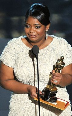 True Fact: Octavia Spencer is the 5th Black actress in history to win the Oscar for Best Supporting Actress.