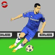 Eden Hazard, Belgian Red Devil.