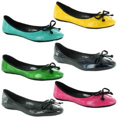 New Ladies Flat Ballet Dolly Ballerina Pumps Summer Shoes Sizes UK 3 4 5 6 7 8 Womens Gorgeous Flats Beach Holiday Sexy Shoes - [UK & IRELAND]