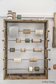 Display for beautiful yarn