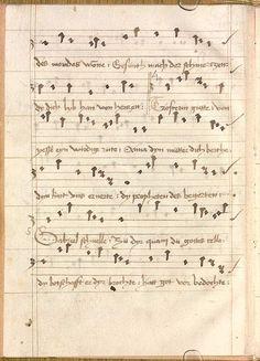 Sequentia 'Ave praeclara', Teutonicis verbis Erffordie compillatus 1492  Cgm 7351  Folio 8