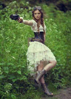 cool Одежда в стиле стимпанк для женщин (50 фото) — Как выбрать и с чем сочетать? Читай больше http://avrorra.com/odezhda-v-stile-stimpank-dlya-zhenshhin-foto/