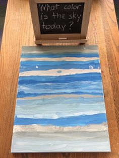 During our Sky Inquiry, we decided to create a collaborative art piece that showed the color of the sky for each day of April. I love using...