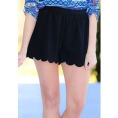 EVERLY:Doing Well Shorts-Black